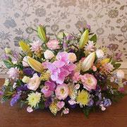 祭壇花 中央