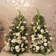 自宅用祭壇花