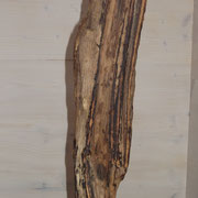 Treibholz Tischlampe