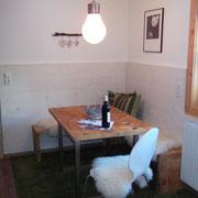 Altholz Bank und Tisch