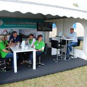 Tarmstedter Ausstellung 2015 Agrar-Service Grünhagen Besuch von den Damen des Maschinenringes