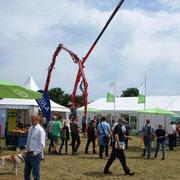 Tarmstedter Ausstellung 2015 Gemeinschaftsstand Maschinenring