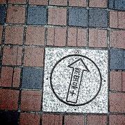 角をアラスカ方向へなんて道案内するようなもんかな、西武新宿駅近く