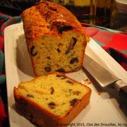 Cake aux champignons persillés