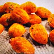 Mini madeleine au lard
