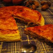 Galette feuilletée aux accents de pain d'épices