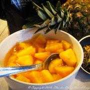 Salade d'ananas de la Reyne