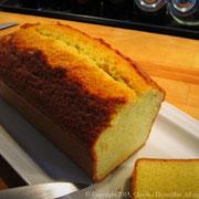 Cake ultra moelleux aux deux citrons