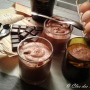 Mousse O ! Chocolat inversée