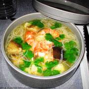 Bouillon de crevettes aux saveurs du Viêt-Nam