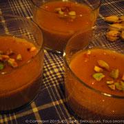 Mouhalabia revu et corrigé au thé Rooibos citrus