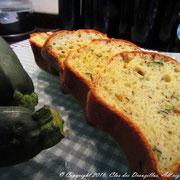 Cake aux courgettes et zataar