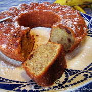 "Cake ""Charlie's Mum"" chocolat-praliné, banane"