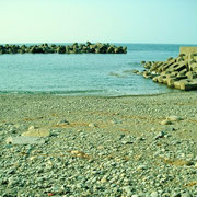 ひねもすのたりの海です。