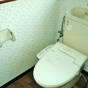 トイレは下水道です。