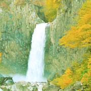 苗名の滝です。