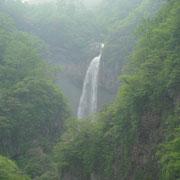 燕温泉奥の惣滝の落差は80mだそうです。