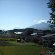 右から妙高山・黒姫山・飯縄山です。