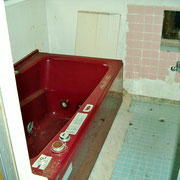 お風呂は補修が必要と思われます。