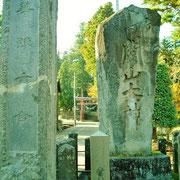歴史ある関山神社。
