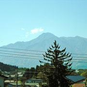 中郷区から見た妙高山。