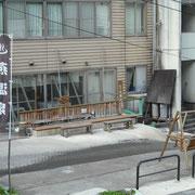 燕温泉街の足湯は無料です。