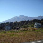 県境を越したところの古海側からの妙高山です。