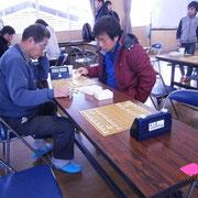 小野澤先生と金田さん。感想戦も熱戦です!