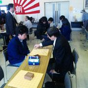 あちらでは軽井沢高・土屋先生の熱血指導