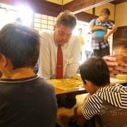 ご存知MSG総統さまの丸山先生。