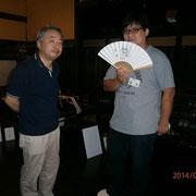ゆかいな京谷先生と新井先生。