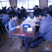 小学生VS岩村田1年選手。