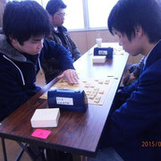 野沢南VS軽井沢。野沢南も地元の児童館に将棋指導に行くなど、地域交流を大切にしてます。