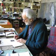 l'incisore Mario Benedetti firma il suo Sculpsit