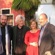 Davide Rondoni, Alberto Nessi, Elisabetta Motta e Luciano Ragozzino