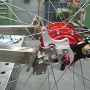 Hinterradschwinge- Anpassen an Rahmen 3