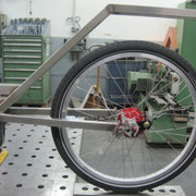 Hinterradschwinge- Anpassen an Rahmen 1