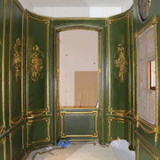 Zimmer während des Aufbaus