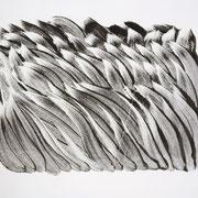 40cm x 50cm, Acryl auf Papier