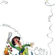 """Illustration zu dem Kinderbuch """"Wie war das doch gleich?"""". Kunde: Susanne Rieder Verlag"""