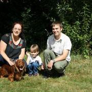 Familie Weber mit Waldemar