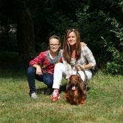 Terence mit Susanne und Chelsea Reichert