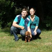 Xolan mit seiner Familie Leester-Röneke