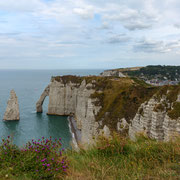 Kustlijn Etretat, Normandië, Frankrijk