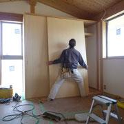 建具吊り込み工事