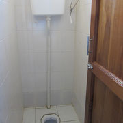Example of a sanitary room of the girls dormatory.