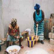 primitief koken in 2000 start voedselprogramma