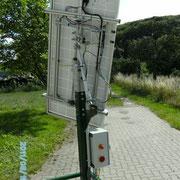 2achsige Solarnachführung mit linearen Antrieben