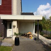 Buiten schilderwerk, woning Zoetermeer.
