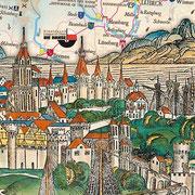 Hansekarte - Titelbild